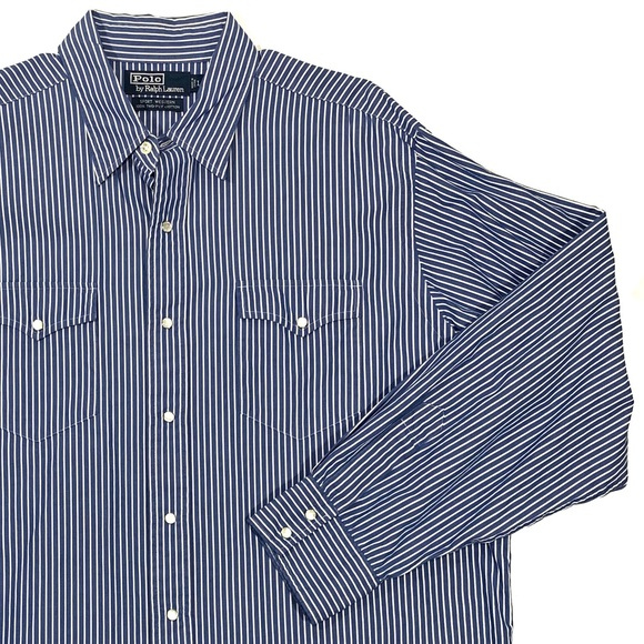 Polo by Ralph Lauren Other - Polo RL | Western Pearl Snap Button Down Shirt